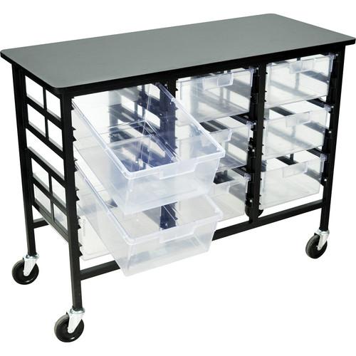 H. Wilson C123D9-CL Bin Workstation/Storage Unit