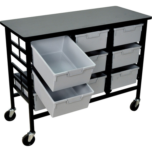 H. Wilson C123D9-LG Bin Workstation/Storage Unit
