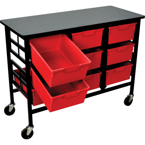 H. Wilson C123D9-PR Bin Workstation/Storage Unit