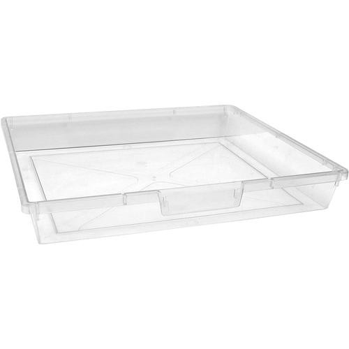 "H. Wilson CE1956CL StorSystem Storage Tray (Clear Single Tray Depth, 12.25 x 16.25 x 3"")"