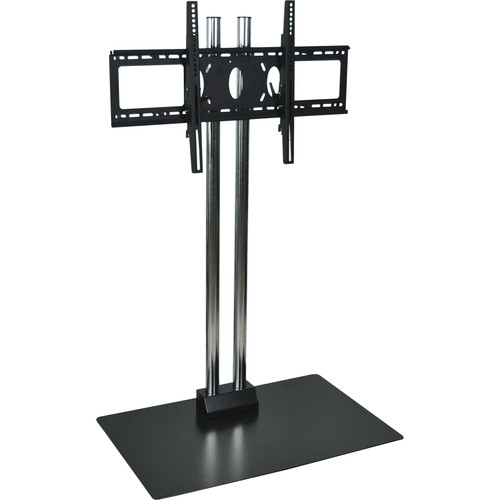 "H. Wilson WPSMS44CH  44"" Flat Panel Display Floor Stand  (Chrome)"