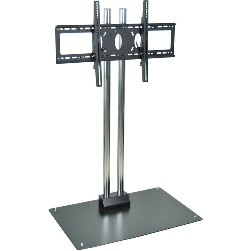 "H. Wilson WPSMS62CH  62"" Flat Panel Display Stationary Floor Stand  (Chrome)"
