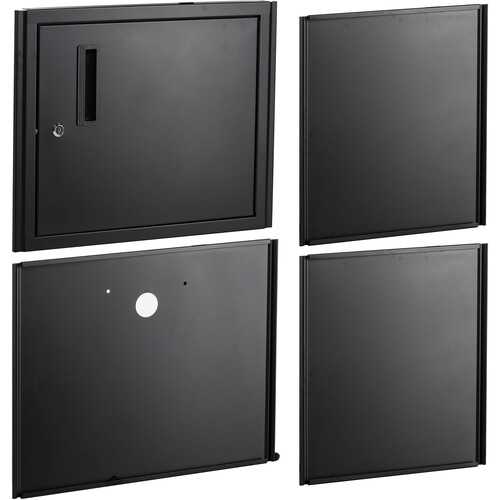 Luxor WTC-2 -B Cabinet Pack for Tuffy Cart (Black)