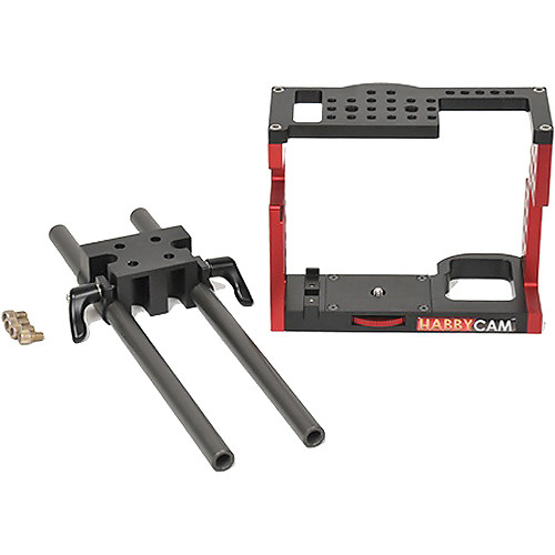 Habbycam 5D/7D/60D DSLR Cage with Rod and Block Kit