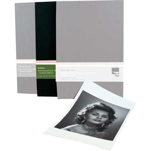 "Hahnem�hle Premium Edition Bamboo Matte FineArt Archival Paper (13 x 19"", 50 Sheets)"