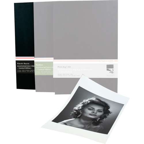 """Hahnem�hle Premium Edition FineArt Baryta Archival Paper (13 x 19"""", 50 Sheets)"""