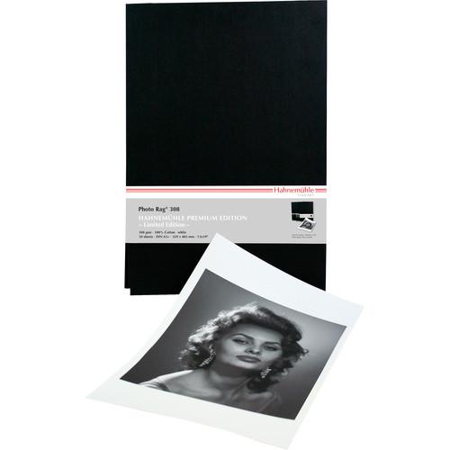 "Hahnem�hle Premium Edition Photo Rag 308 FineArt Archival Paper (13 x 19"", 50 Sheets)"