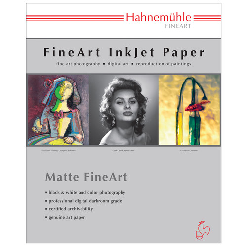 "Hahnem�hle Albrecht Durer Matte FineArt Paper (8.5 x 11"", 25 Sheets)"
