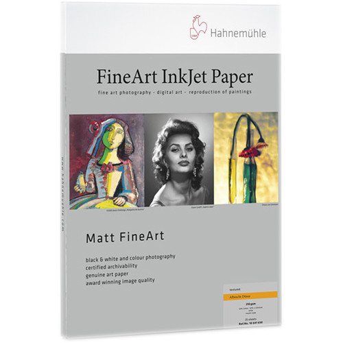 "Hahnem�hle Albrecht Durer Matte FineArt Paper (11 x 17"", 25 Sheets)"