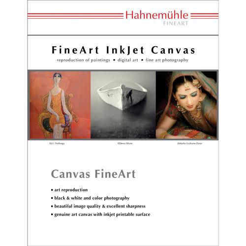 Hahnem�hle Monet Fine Art Canvas 410 gsm (A3 Size Paper 25 Sheets)