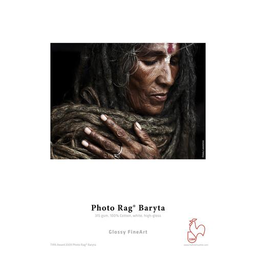 "Hahnemuhle Photo Rag Baryta Paper (8.5 x 11"", 25 Sheets)"
