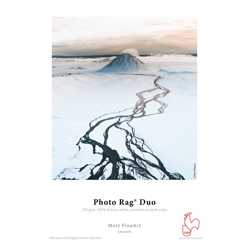 """Hahnemuehle Photo Rag Duo Matte FineArt Paper (8.5 x 11"""" - 25 Sheets)"""