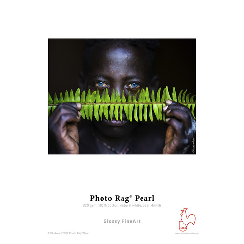 """Hahnemühle Photo Rag Pearl Paper (17x22"""", 25 Sheets)"""