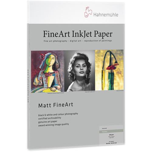 """Hahnem�hle Torchon Matte FineArt Paper (8.5 x 11"""") - 25 Sheets"""