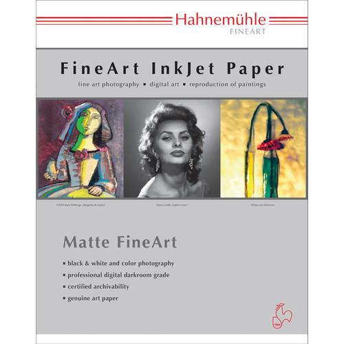 """Hahnemühle Torchon Matte FineArt Paper (11 x 17"""") - 25 Sheets"""