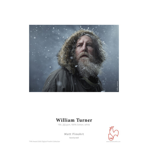 "Hahnem�hle William Turner Matt Fine Art Paper - 310 gsm (17 x 22.0"", 25 Sheets)"
