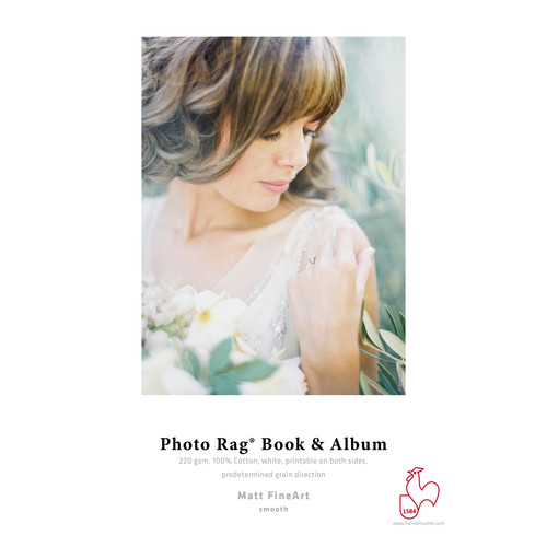 "Hahnem�hle Photo Rag Book & Album Inkjet Paper (13 x 19"", 25 Sheets)"