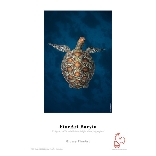 "Hahnemühle Fine Art Baryta Paper (325gsm) for Inkjet - 60"" x 39'"