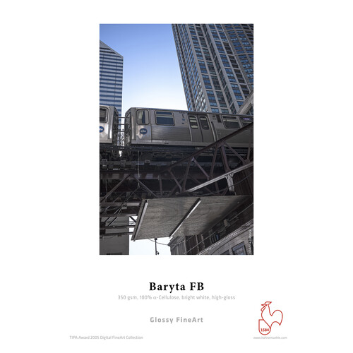 "Hahnem�hle Baryta FB 17"" x 39' Paper - 350 GSM (1 roll)"