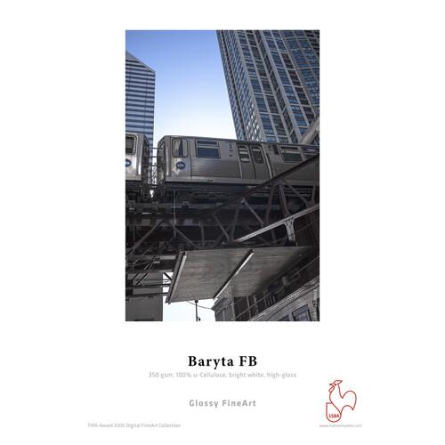 "Hahnem�hle Baryta FB 44"" x 39' Paper - 350 GSM (1 roll)"
