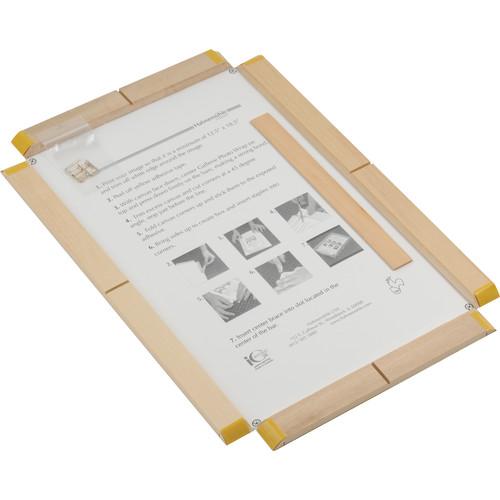"Hahnemühle 10 x 15.75"" Standard Gallerie Wrap Frame with Daguerre Canvas"