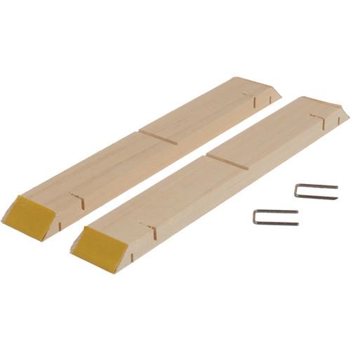 "Hahnemuehle 14600101 Standard Gallerie Wrap Stretcher Bars (8"" Length, 2 Bars)"