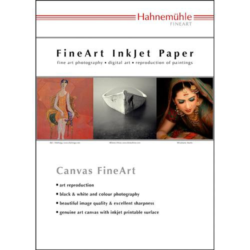 Hahnemühle Monet Fine Art Canvas 410 gsm (Letter Size Paper 10 Sheets)