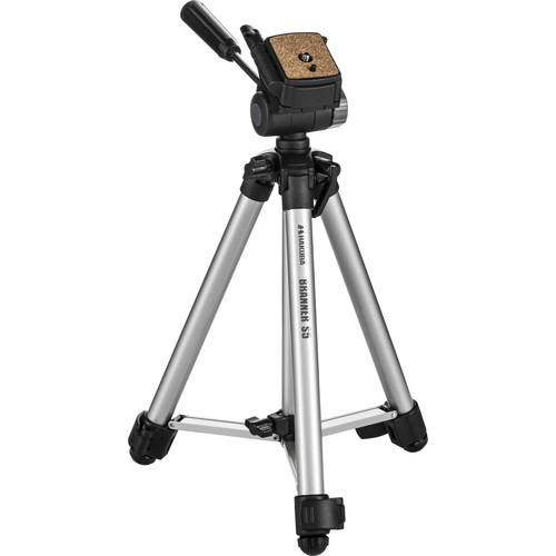 Hakuba Branner BR-5-SG 5-Section Tripod (Gray)