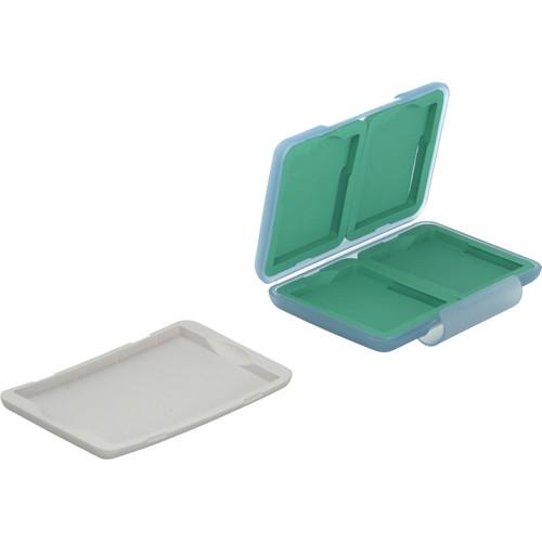 Hakuba DMSP-SM8 SM Card Plastic Case (Light Green)