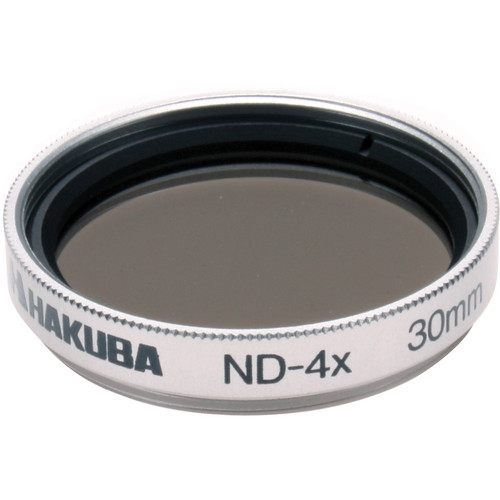 Hakuba 30mm Super ND 4x 1.2 Filter (4-Stop)