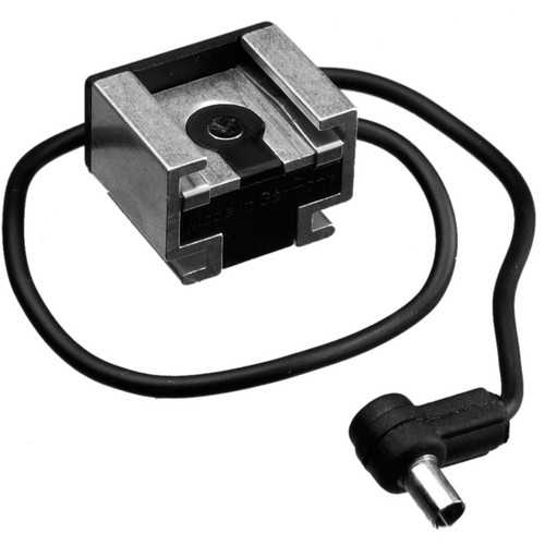 Hama Hot Shoe Adapter 2 - Hot Shoe with PC (Male) Sync Cord