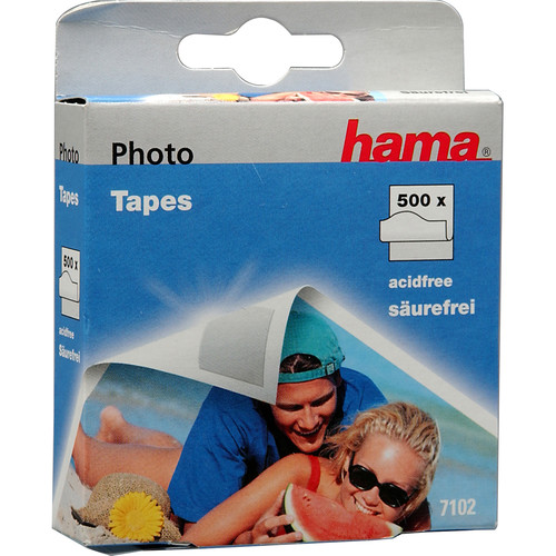 Hama Double Stick Pressure Sensitive Tape Squares - Roll of 500