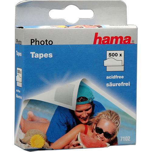 Hama Double Stick Pressure Sensitive Tape Squares - Roll of 500