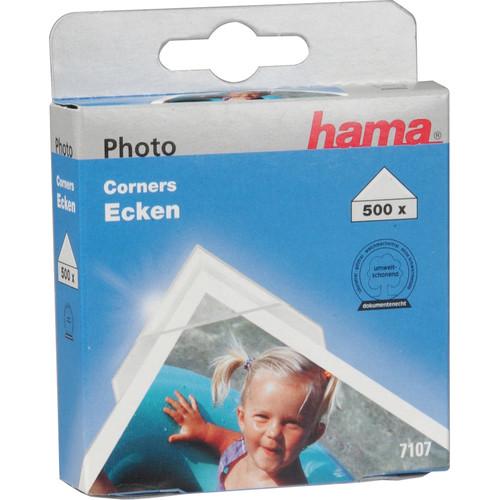Hama Clear Photo Corners (500)