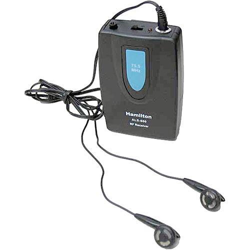 HamiltonBuhl ALS-BP Additional Beltpack Receiver for ALS600 Listening System