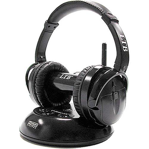 HamiltonBuhl Q-Home-FX True 5.1 2.4GHz Digital Wireless Headphones