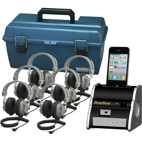 HamiltonBuhl DSIP-SC7V 6-User iPhone/iPod Listening Center with SC7V Headphones