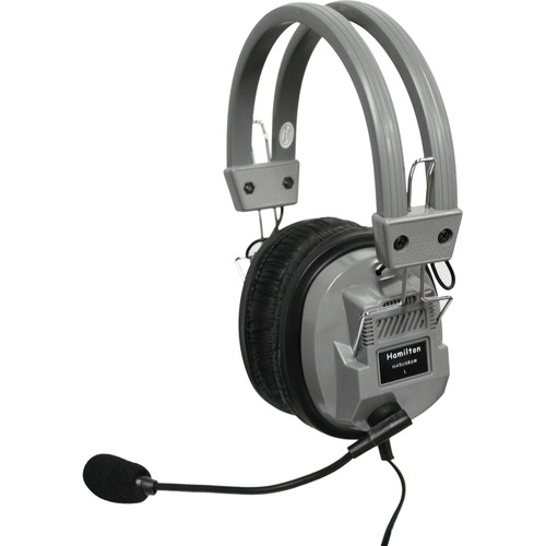 HamiltonBuhl Deluxe USB Headset with Microphone, In-Lin Volume, and Mute