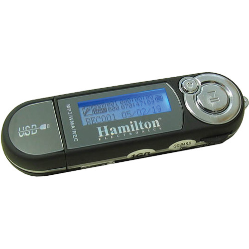 HamiltonBuhl HAMP-3 Portable 2GB MP3 Player/Recorder