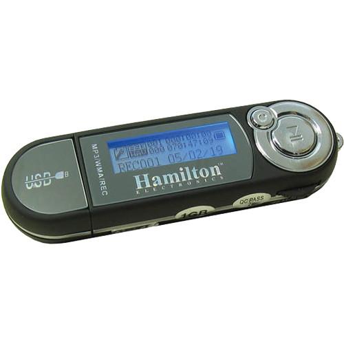 HamiltonBuhl HAMP-3 Portable 2GB MP3 Player/Recorder