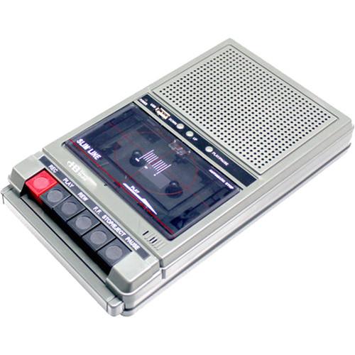 HamiltonBuhl HA-802 1 Watt, 2-Station Cassette Tape Player/Recorder