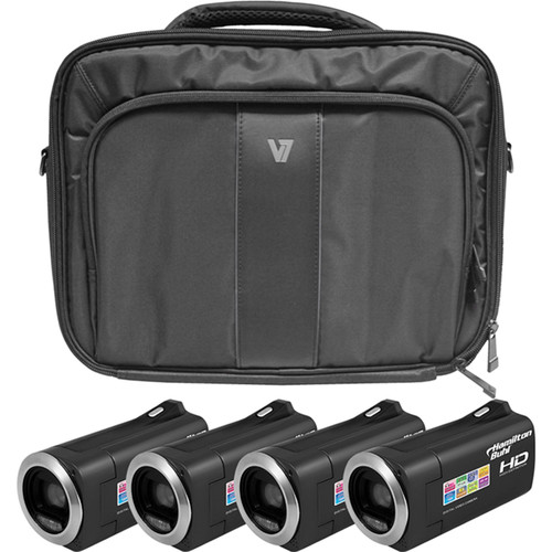 HamiltonBuhl HD Camcorder Explorer Kit with 4 Cameras, Software & Case