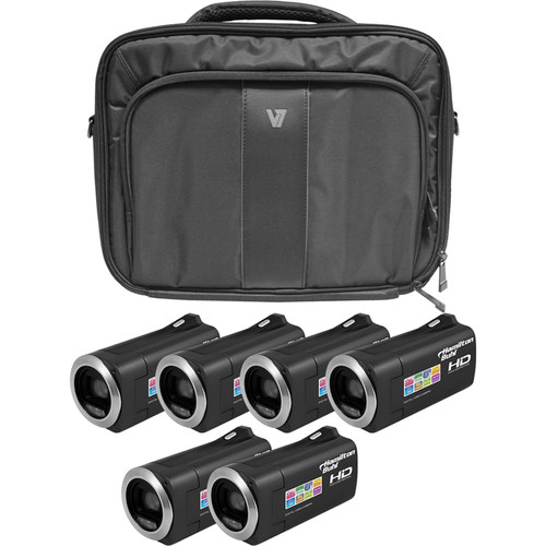 HamiltonBuhl HD Camcorder Explorer Kit with 6 Cameras, Software & Case