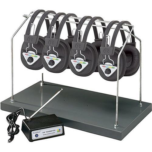 HamiltonBuhl HH/W904-MULTI 4-User Wireless Listening center