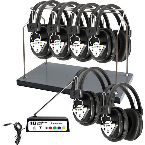 HamiltonBuhl HH/W906-MULTI 6-User Wireless Listening center