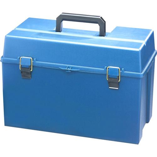 HamiltonBuhl HMC3166 Large Plastic Carrying Case for Listening Centers (Blue)