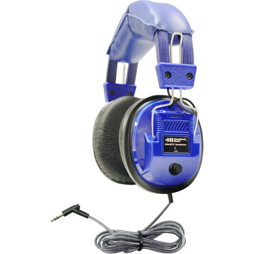 HamiltonBuhl KidsSC7V Deluxe Kids Stereo Headphones with Volume Control