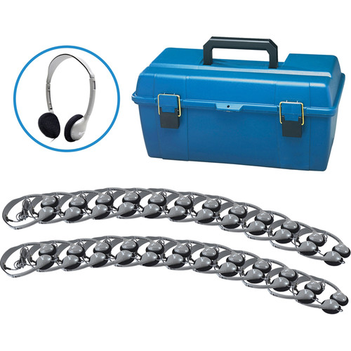HamiltonBuhl LCP/24/HA2 24-User Headphone Lab Pack