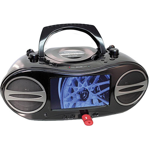 HamiltonBuhl MV-8920 Portable Video Boom Box