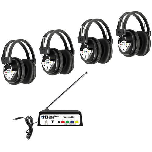 HamiltonBuhl W904-Multi 4-User Wireless Listening System